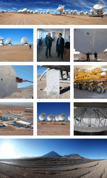 , Radio Telescope Maintenance ALMA, Chile